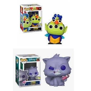 SDCC 2020 Yzma and Kevin Funko Pop Bundle/Lot/Set